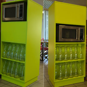 Buffet Micro-Onde Modulable